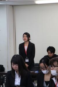 QAB 中川栞 アナウンサー 講話