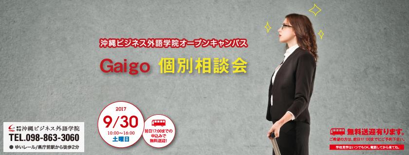 9/30 Gaigo 個別相談会