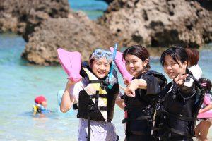 リゾート観光コースインターンシップとリゾートレジャー体験