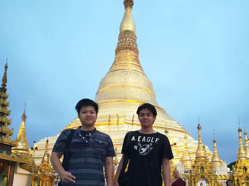 ミャンマー寺院 シュエダゴン・パゴダ