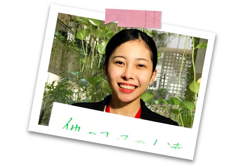 エアラインコース 中野茜(糸満高校卒)