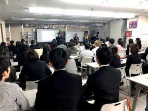 JALスカイエアポート沖縄株式会社校内企業説明会