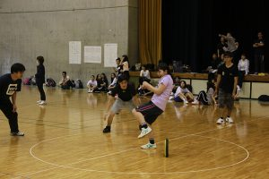 沖縄ビジネス外語学院 新入生歓迎球技大会